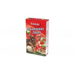 قرص مولتي ويتامين با طعم توت فرنگي مخصوص جوندگان 45 گرمي