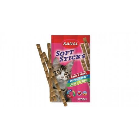 تشويقي مدادي 3 عددي گربه حاوي گوشت ماهي سالمون و قزل الا