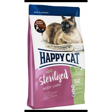 happy cat sterilised weide lamm ده كيلويي