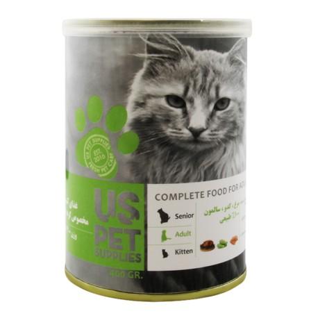 غذای کنسرو مخصوص گربه بزرگسال 400 گرمی