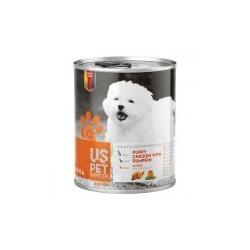 غذای کنسرو مخصوص توله سگ مرغ و کدو تنبل 400 گرمی
