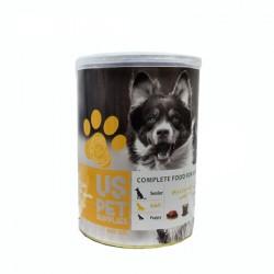 کنسرو سگ بزرگسال گوشت مرغ و برنج400 گرمی